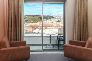Hotel Praia, Отели  Назаре - big - 118