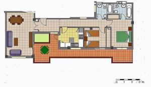 Apartamento con Terraza a 5 min playa, Апартаменты  Ринкон-де-ла-Виктория - big - 4