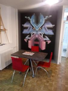 Art studio, Ferienwohnungen  Belgrad - big - 13