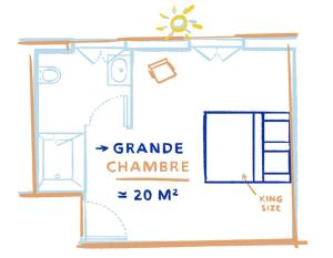 Hôtel La Nouvelle République, Szállodák  Párizs - big - 15