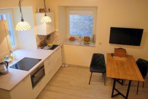 Near fireplace, Apartments  Vilnius - big - 5