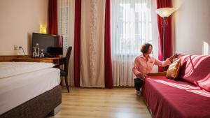 Hotel Am Schloss, Hotely  Alzey - big - 16