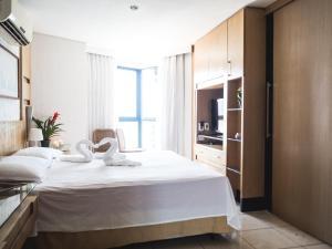 GOLDEN APARTMENT - MODUS STYLE, Апартаменты  Форталеза - big - 10