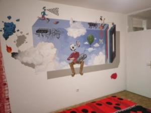 Art studio, Apartmány  Belehrad - big - 14