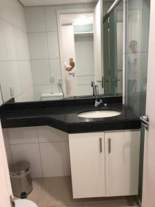 Portal Meireles 402, Apartmanok  Fortaleza - big - 4