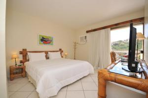 Standard Double Room with Balcony and Garden View