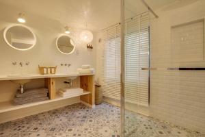 Magnifique villa avec piscine au Cap Feret, Dovolenkové domy  Cap-Ferret - big - 7