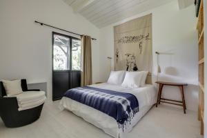 Magnifique villa avec piscine au Cap Feret, Dovolenkové domy  Cap-Ferret - big - 16