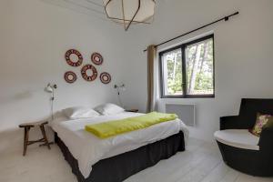 Magnifique villa avec piscine au Cap Feret, Dovolenkové domy  Cap-Ferret - big - 21