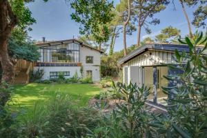 Magnifique villa avec piscine au Cap Feret, Dovolenkové domy  Cap-Ferret - big - 23