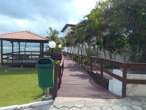 Apartamento Praia de Ponta das Canas, Апартаменты  Флорианополис - big - 7