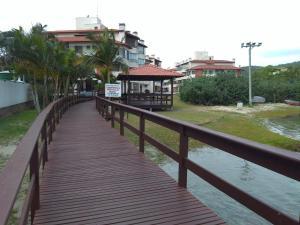Apartamento Praia de Ponta das Canas, Апартаменты  Флорианополис - big - 6
