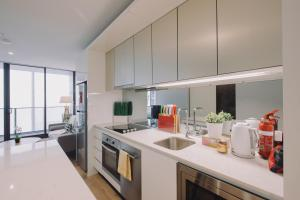 SSP Upper West Side - Melbourne CBD, Apartmány  Melbourne - big - 22