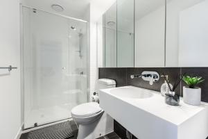 SSP Upper West Side - Melbourne CBD, Apartmány  Melbourne - big - 49