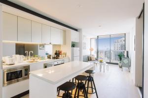 SSP Upper West Side - Melbourne CBD, Apartmány  Melbourne - big - 52