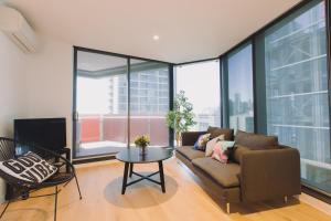SSP Upper West Side - Melbourne CBD, Apartmány  Melbourne - big - 55