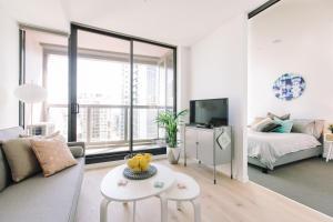 SSP Upper West Side - Melbourne CBD, Apartmány  Melbourne - big - 57