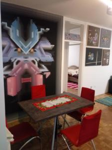 Art studio, Appartamenti  Belgrado - big - 19