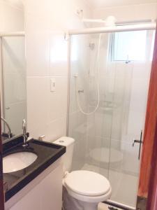 Apartamento Temporada João Pessoa, Апартаменты  Жуан-Песоа - big - 12