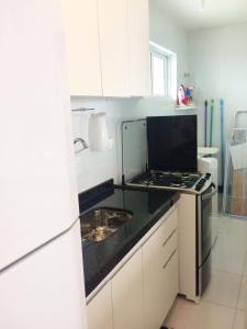 Apartamento Temporada João Pessoa, Апартаменты  Жуан-Песоа - big - 8