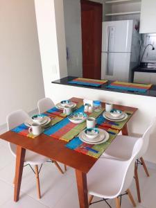 Apartamento Temporada João Pessoa, Апартаменты  Жуан-Песоа - big - 6