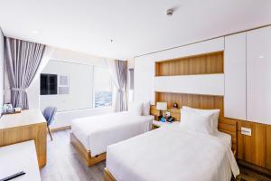 Zen Diamond Suites Hotel, Szállodák  Da Nang - big - 5