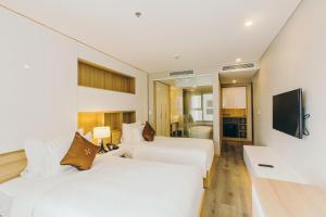 Zen Diamond Suites Hotel, Szállodák  Da Nang - big - 10