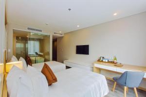 Zen Diamond Suites Hotel, Szállodák  Da Nang - big - 8
