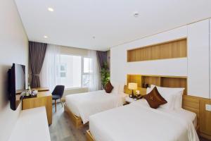 Zen Diamond Suites Hotel, Szállodák  Da Nang - big - 4