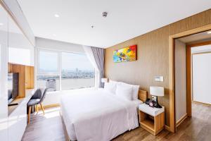 Zen Diamond Suites Hotel, Szállodák  Da Nang - big - 14