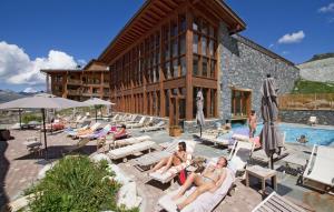Appart'Hotel Odalys Prestige Eden, Apartmanhotelek  Arc 1800 - big - 49