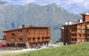 Appart'Hotel Odalys Prestige Eden, Apartmanhotelek  Arc 1800 - big - 51