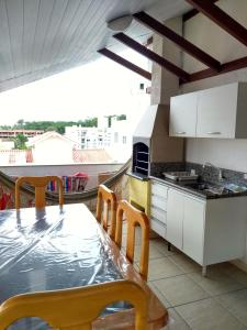 Residencial Bertoglio, Appartamenti  Florianópolis - big - 102
