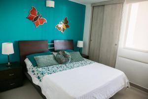 Apartamento Rodadero, Apartmanok  Santa Marta - big - 8
