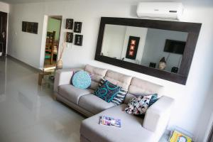 Apartamento Rodadero, Apartmanok  Santa Marta - big - 1