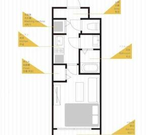 Faminect Apartment in Osaka FN449, Apartmány  Osaka - big - 30