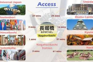 Faminect Apartment in Osaka FN449, Апартаменты  Осака - big - 48
