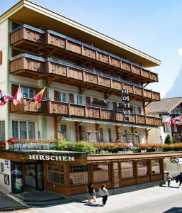 Hotel Hirschen - Grindelwald, Отели  Гриндельвальд - big - 101