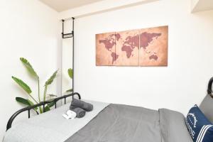 Stylish room in downtown, Apartmanok  Tokió - big - 3