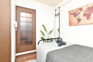 Stylish room in downtown, Apartmanok  Tokió - big - 13