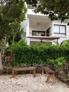 Luxury 2 Bedroom Bahia Principe Condo, Апартаменты  Акумаль - big - 21