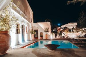 Santorini Heritage Villas, Vily  Megalokhori - big - 8