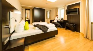 sevenDays Hotel BoardingHouse Mannheim, Hotels  Mannheim - big - 21