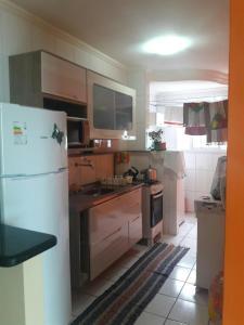 Apartamento Gimenes - Itapuã, Apartmanok  Mongaguá - big - 14