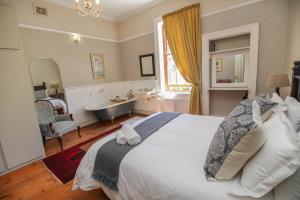 Deluxe Zimmer mit Queensize-Bett mit Badezimmer