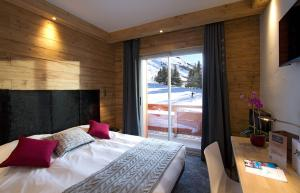 Hotel Les Mélèzes, Hotely  Les Deux Alpes - big - 7