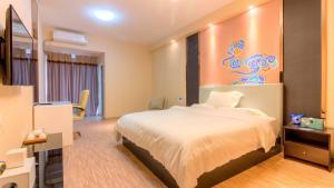 Guangzhou Bin Ke International Apartment Pazhou Branch, Apartmány  Kanton - big - 17