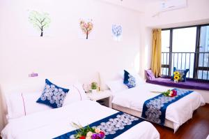 Guangzhou Bin Ke International Apartment Pazhou Branch, Apartmány  Kanton - big - 9