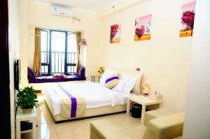 Guangzhou Bin Ke International Apartment Pazhou Branch, Apartmány  Kanton - big - 6