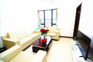 Guangzhou Bin Ke International Apartment Pazhou Branch, Apartmány  Kanton - big - 2